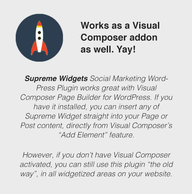 Supreme Widgets Social Marketing WordPress Plugin 2
