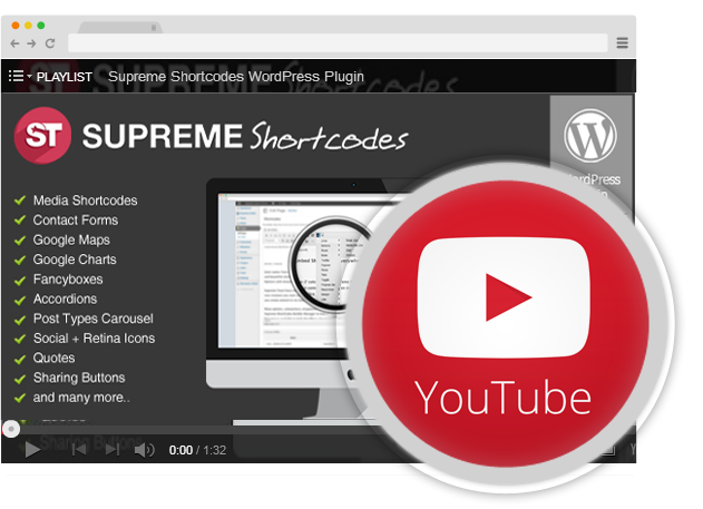Supreme Shortcodes - Video Tutorials