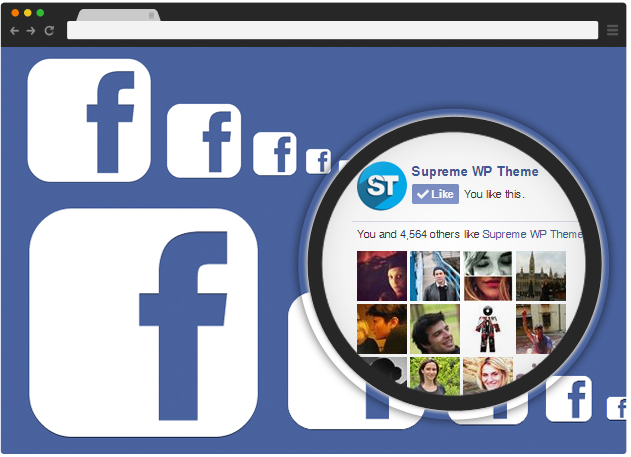 Facebook - Supreme Widgets WordPress Plugin
