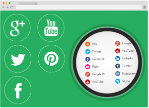 Social Networks with Icons