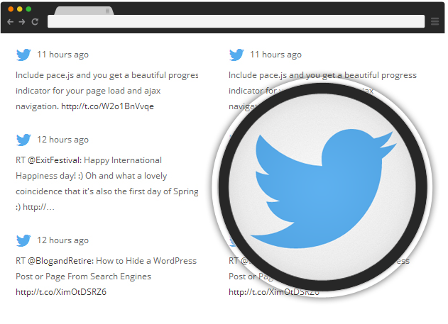 Twitter - Supreme Widgets WordPress Plugin