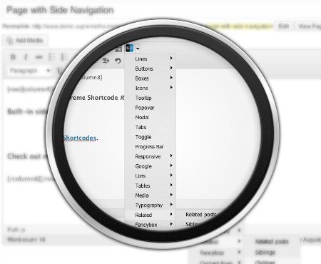 Supreme-Page-Side-Navigation