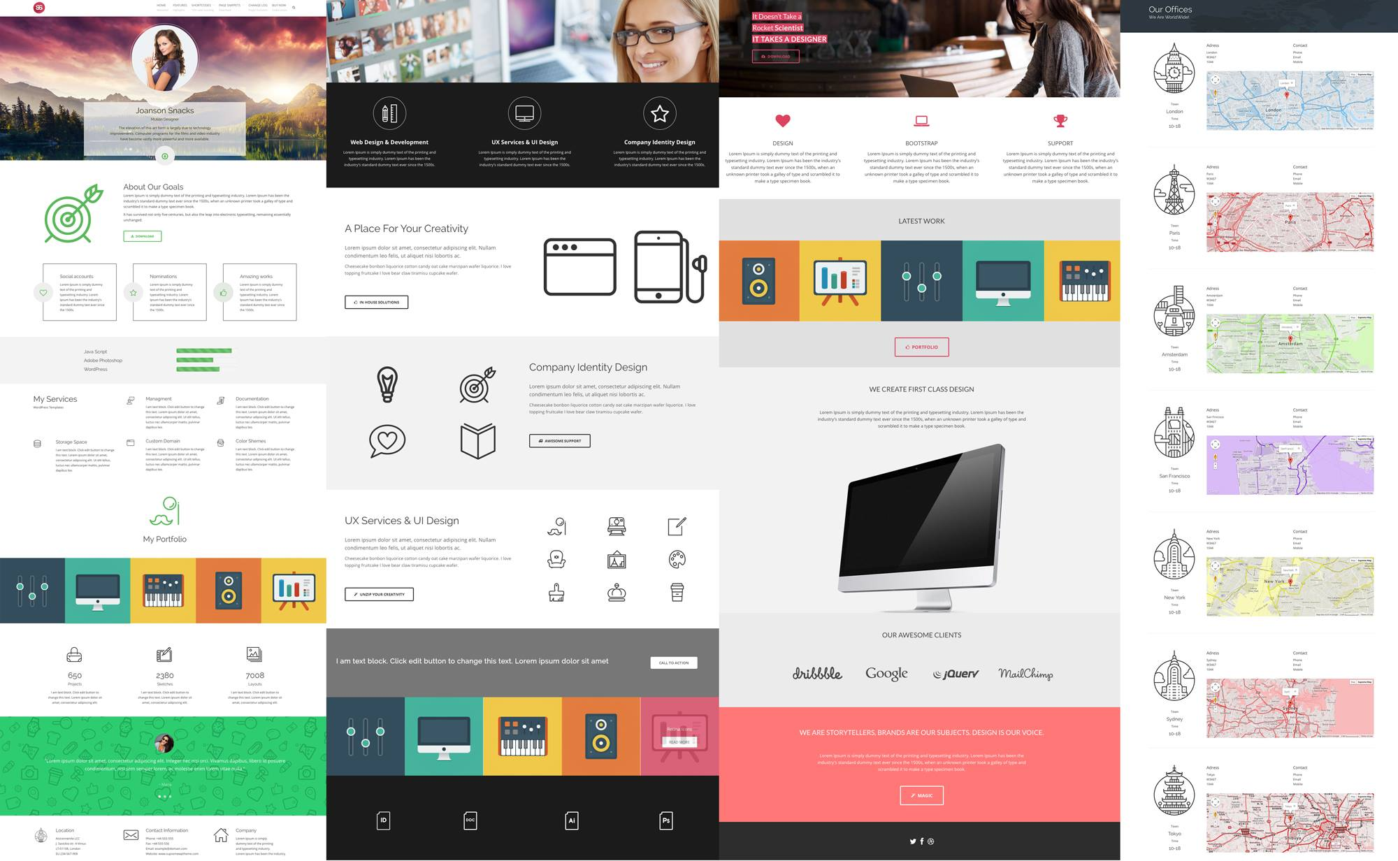 Visual Composer Templates Archives - Supreme WP Theme